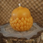 Beeswax Acorn Candle