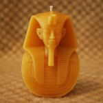 Beeswax King Tut Candle