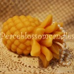 Beeswax Pineapple Candle