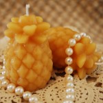 Beeswax Small Pineapple Candles