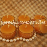 Natural Beeswax Tea Lights