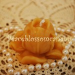 Beeswax Tulip Bud Candle